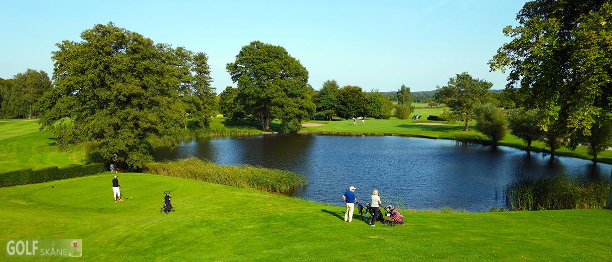 Golf i Skåne - Bokskogens GK - Hål 10 Adr. golfiskane.se