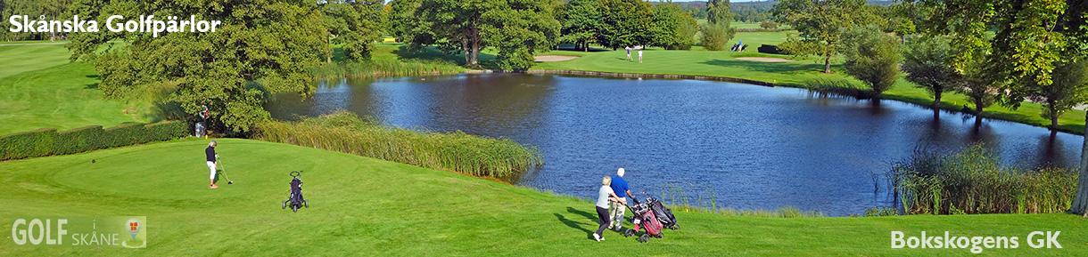Golf i Skåne Skånska Golfpärlor Bokskogens GK vy hål 10 golfiskane.se