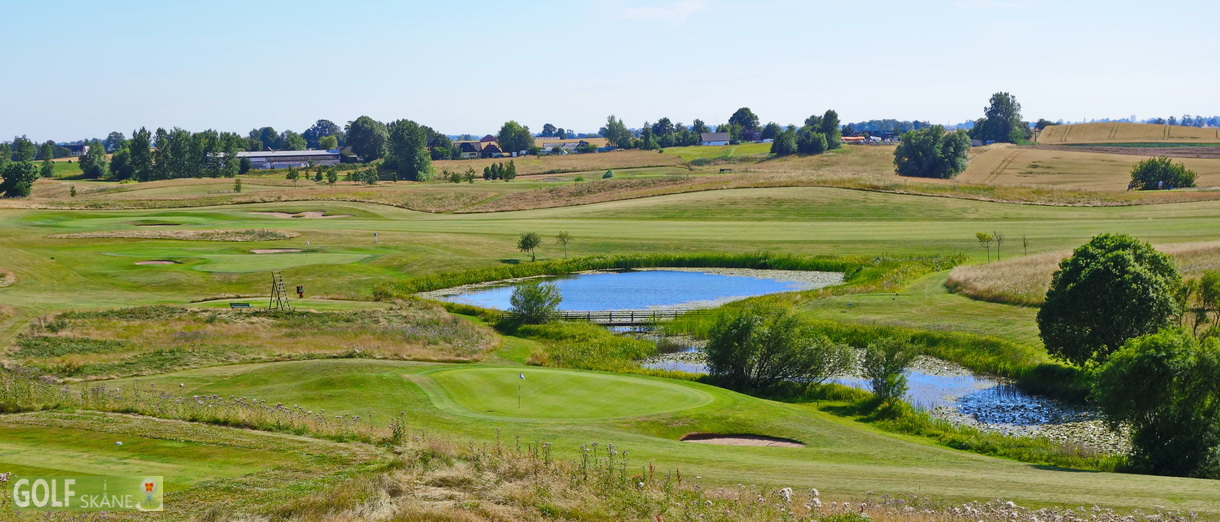 Golf i Skåne banbild- Tegelberga Golfklubb Adr. golfiskane.se