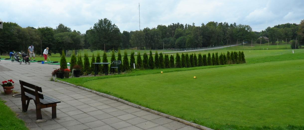 Golf i Skåne - Wittsjö Golfklubb - Övningsområde
