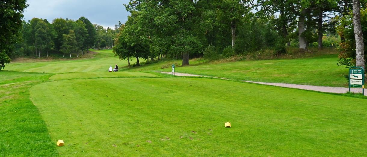 Golf i Skåne - Wittsjö Golfklubb - och vandringen har börjat