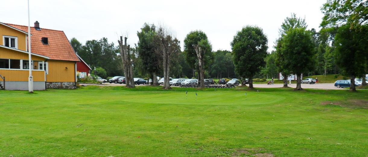 Golf i Skåne - Wittsjö Golfklubb - Övnings Puttgreen