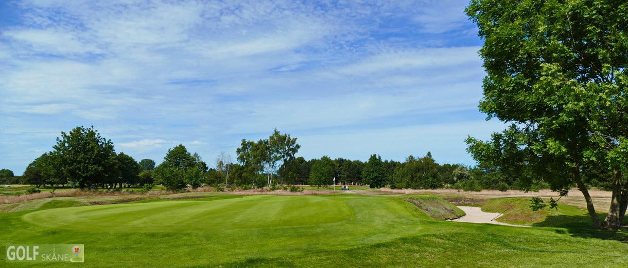 Golf i Skåne banbild- Ystad Golfklubb Adr. golfiskane.se