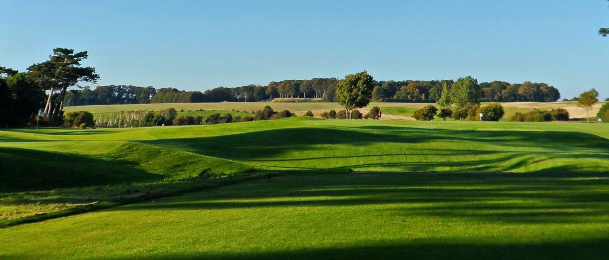 Golf i Skåne - Landskrona Golfklubb - Utsikt från Erikstorp 13:e tee