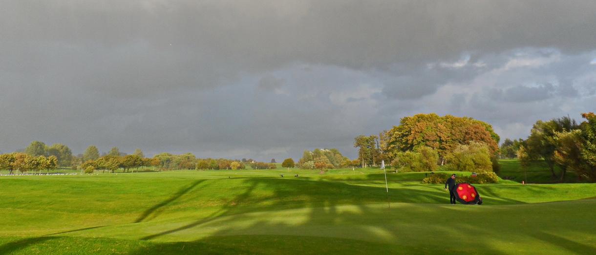 Golf i Skåne - Landskrona Golfklubb - Efter regn kommer sol
