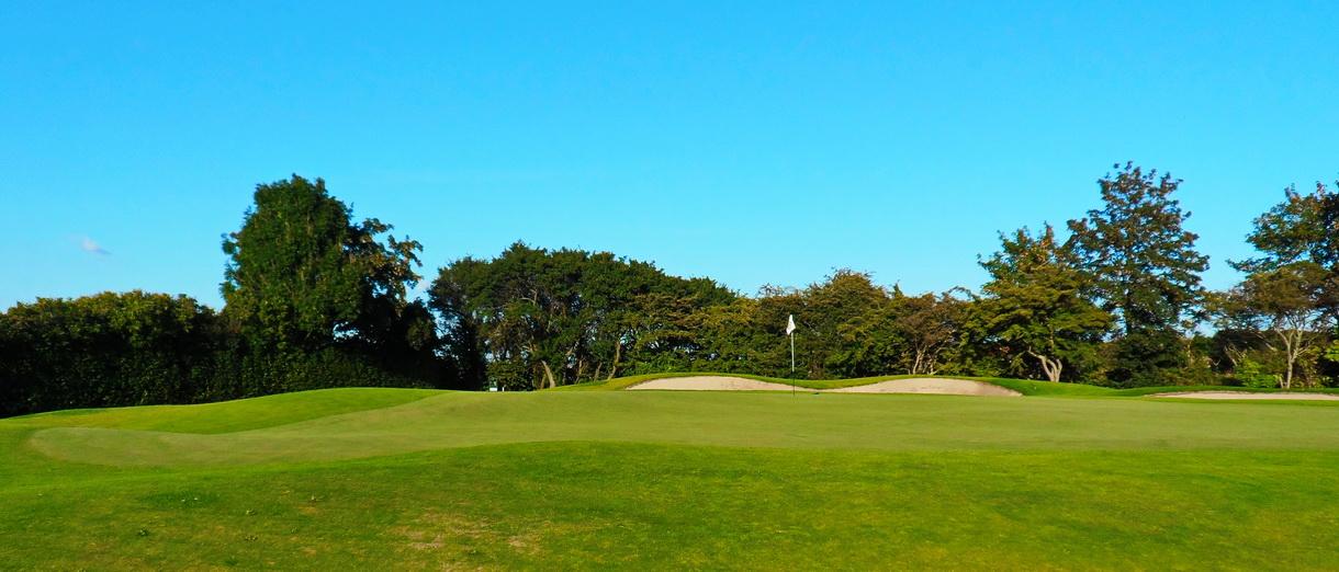 Golf i Skåne - Landskrona Golfklubb - Inspel på Erikstorp 1