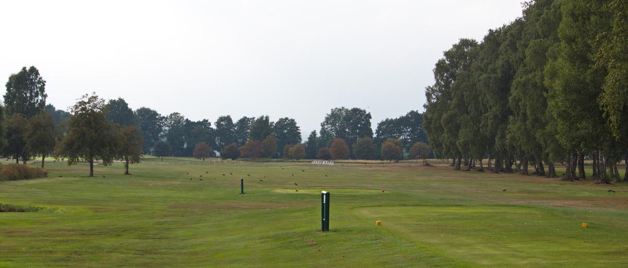 Golf i Skåne - Skyrups Golfklubb - Utsikt från tee