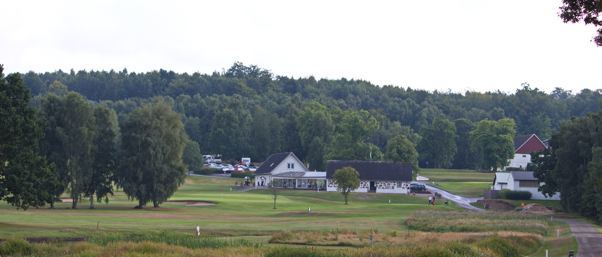 Golf i Skåne - Skyrups Golfklubb - Vy över golfanläggningen