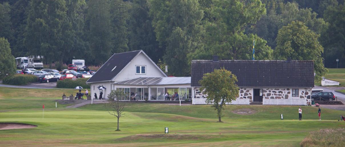 Golf i Skåne - Skyrups Golfklubb - Vy över golfanläggningen closeup
