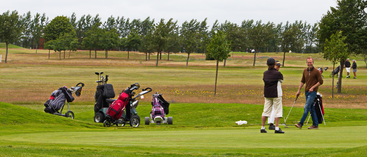 Golf i Skåne - Bedinge Golfklubb - Glada golfare