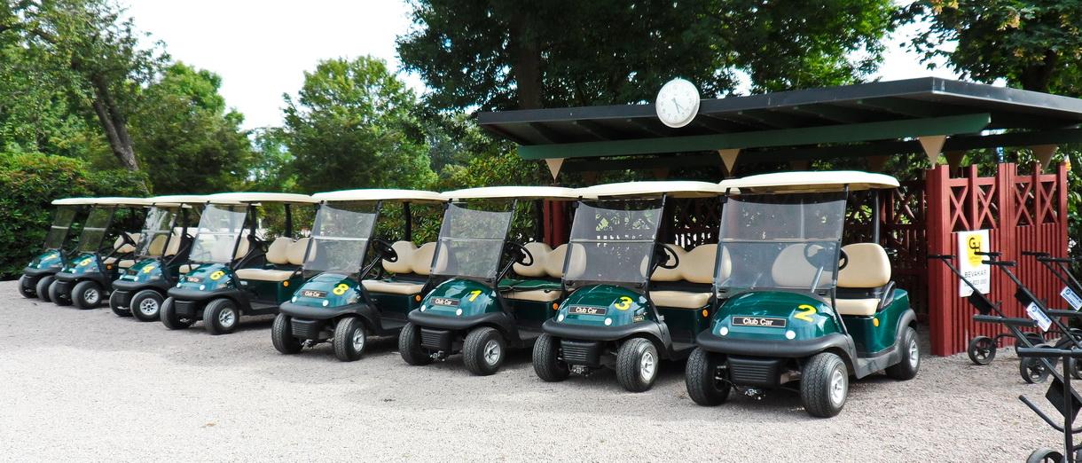 Golf i Skåne - Landskrona Golfklubb - Golfbilsparken