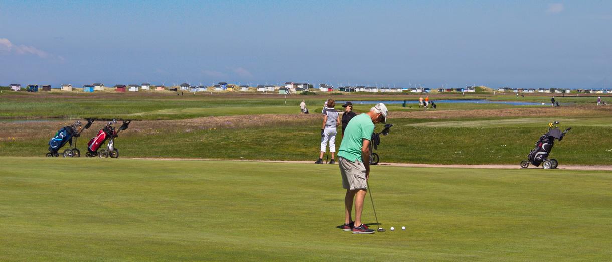 Golf i Skåne - Flommens Golfklubb bild från banan 1