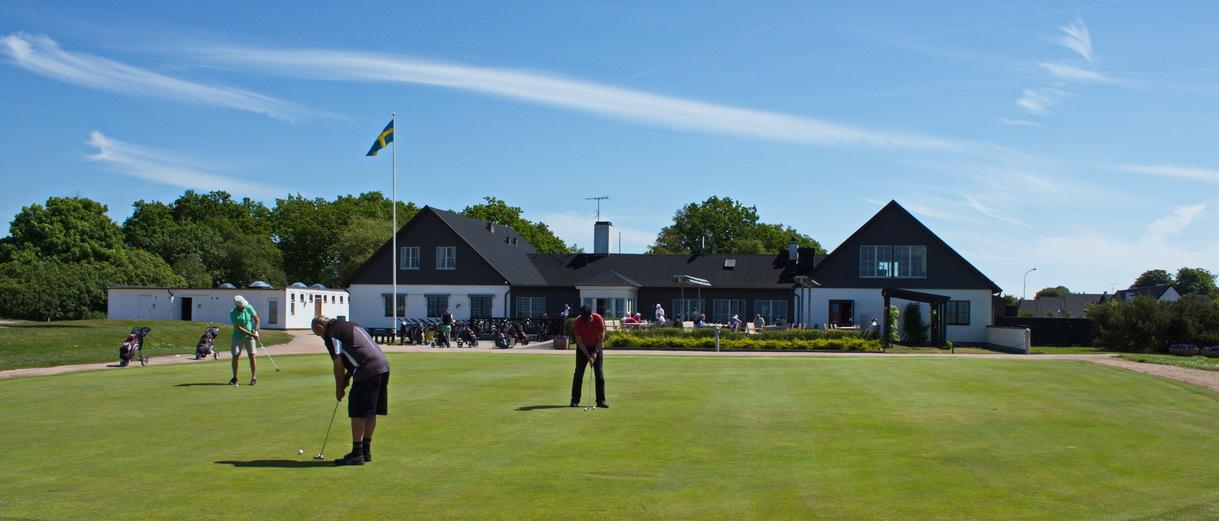 Golf i Skåne - Flommens Golfklubb Klubbhuset
