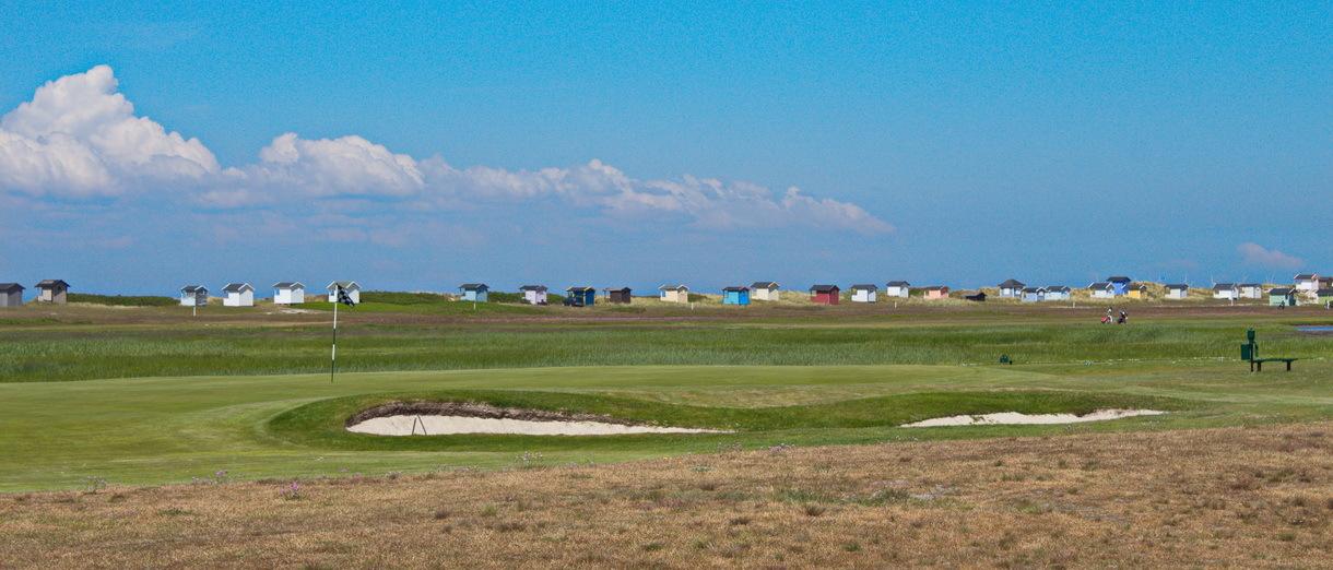 Golf i Skåne - Flommens Golfklubb bild från banan 5