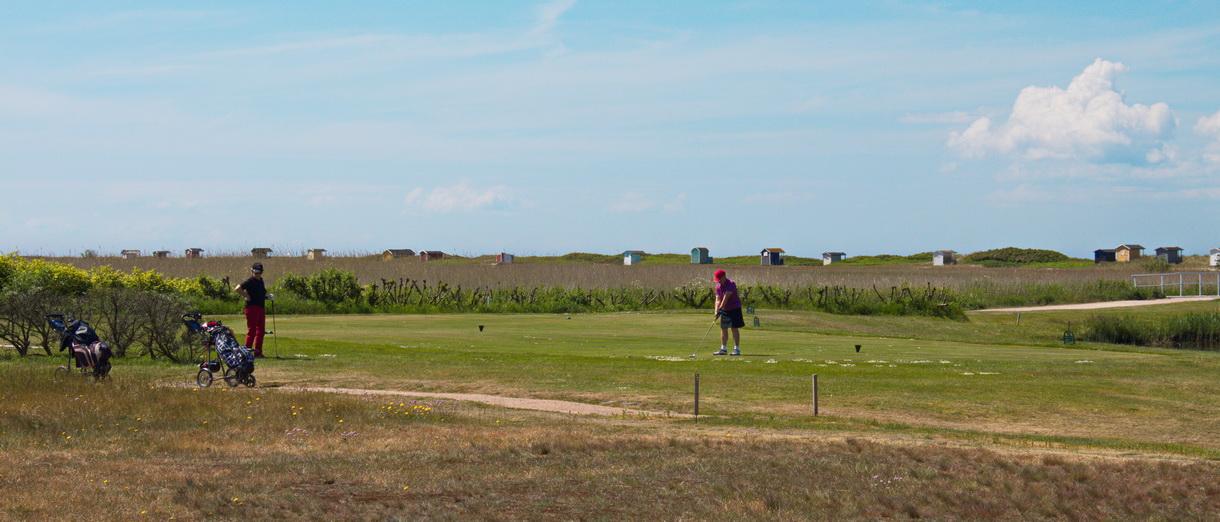 Golf i Skåne - Flommens Golfklubb bild från banan 6