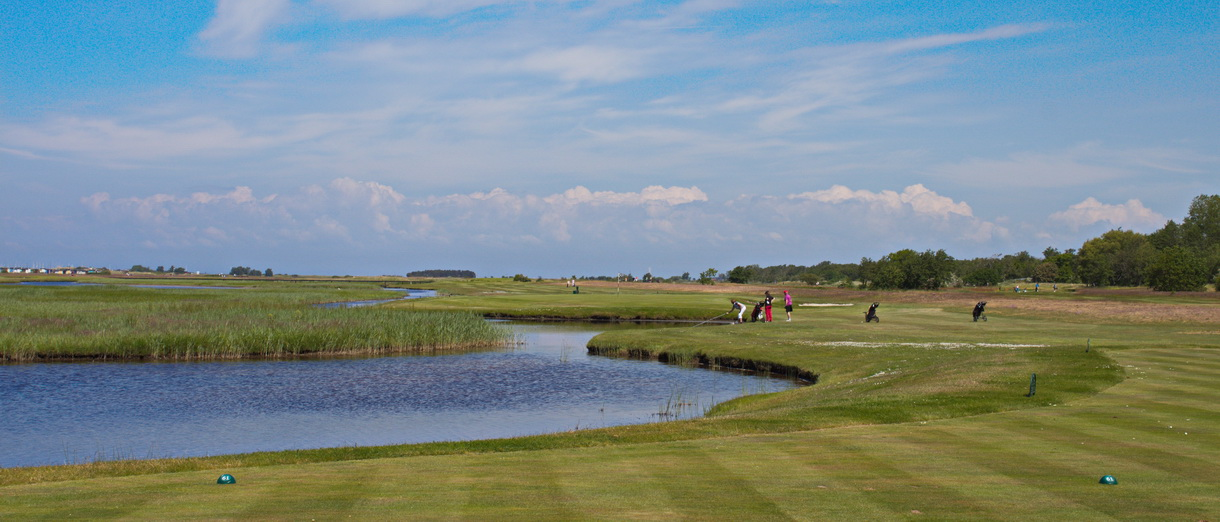 Golf i Skåne - Flommens Golfklubb bild från banan 7