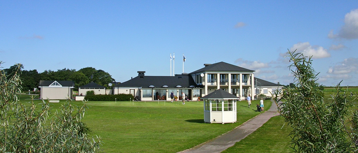 Golf i Skåne - Trelleborg Golfklubb - Klubbhuset