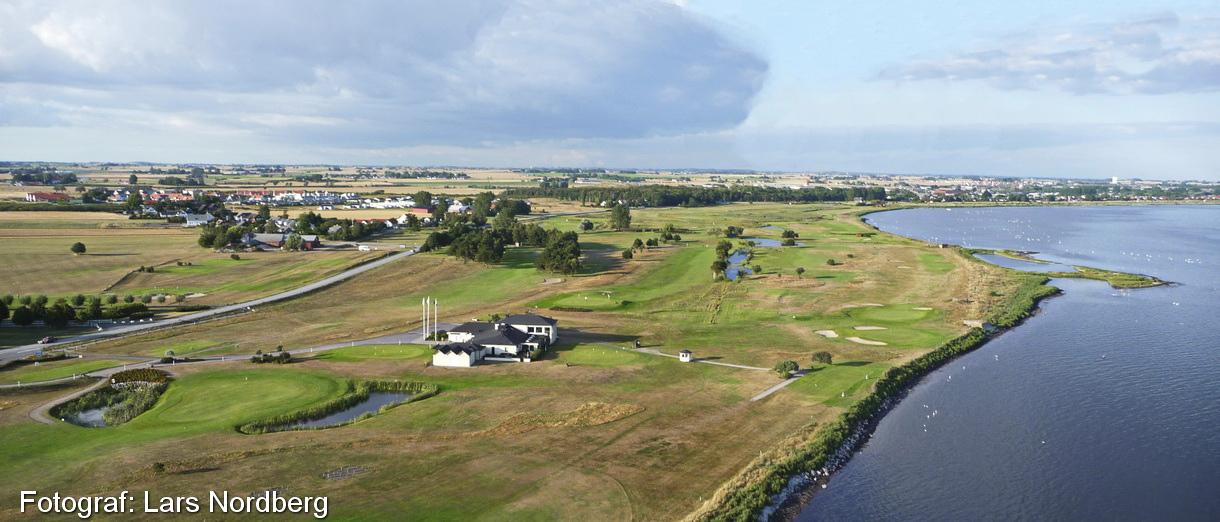 Golf i Skåne - Trelleborg Golfklubb - lite grann från ovan 2