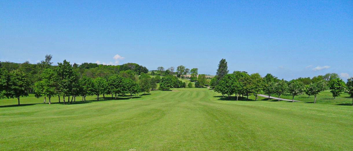 Golf i Skåne - Eslövs Golfklubb bild från banan 1