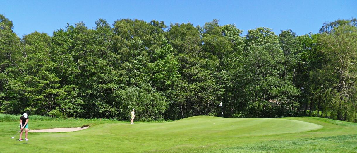 Golf i Skåne - Eslövs Golfklubb bild från banan 8