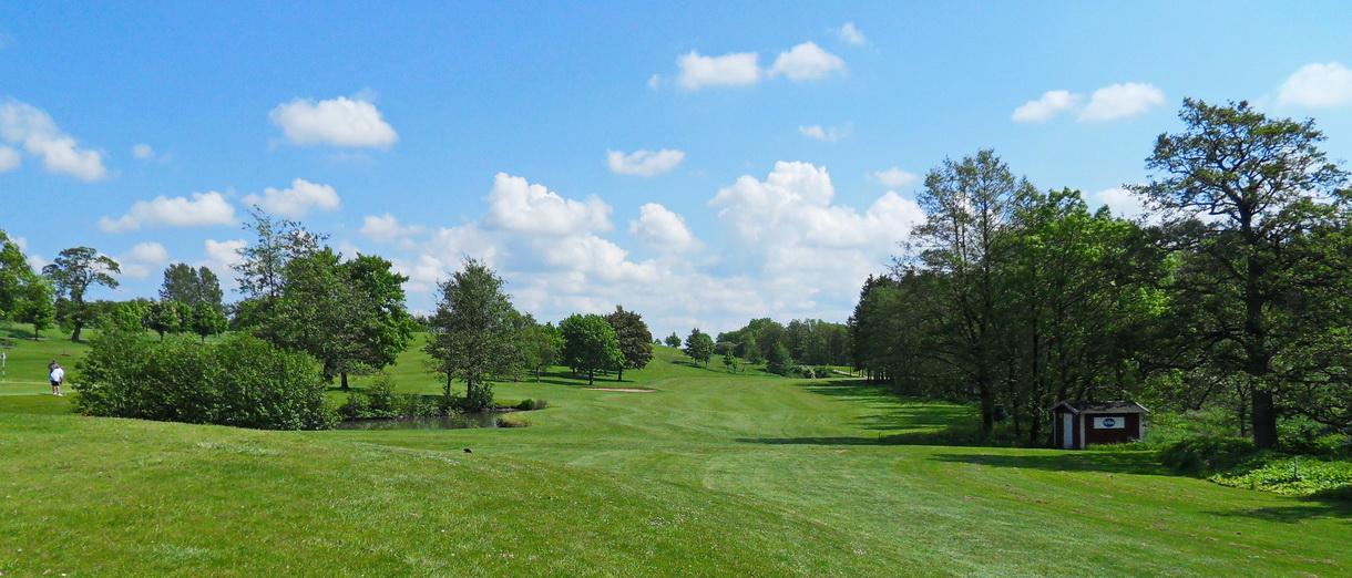 Golf i Skåne - Eslövs Golfklubb bild från banan 9