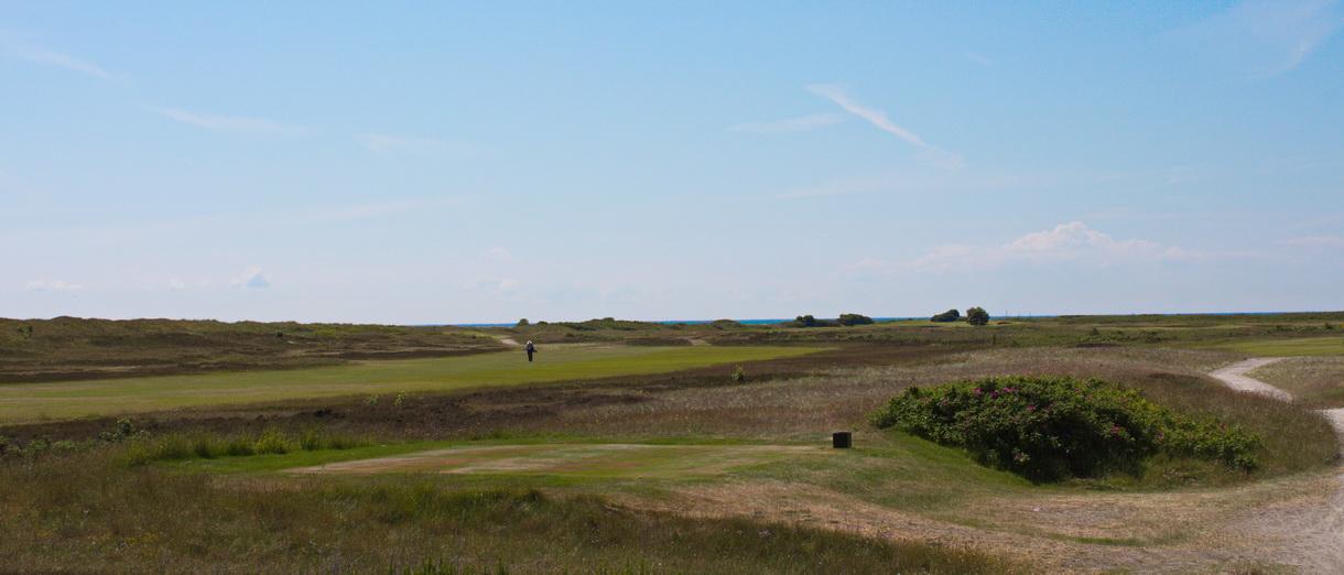 Golf i Skåne - Falsterbo Golfklubb bild från banan 4