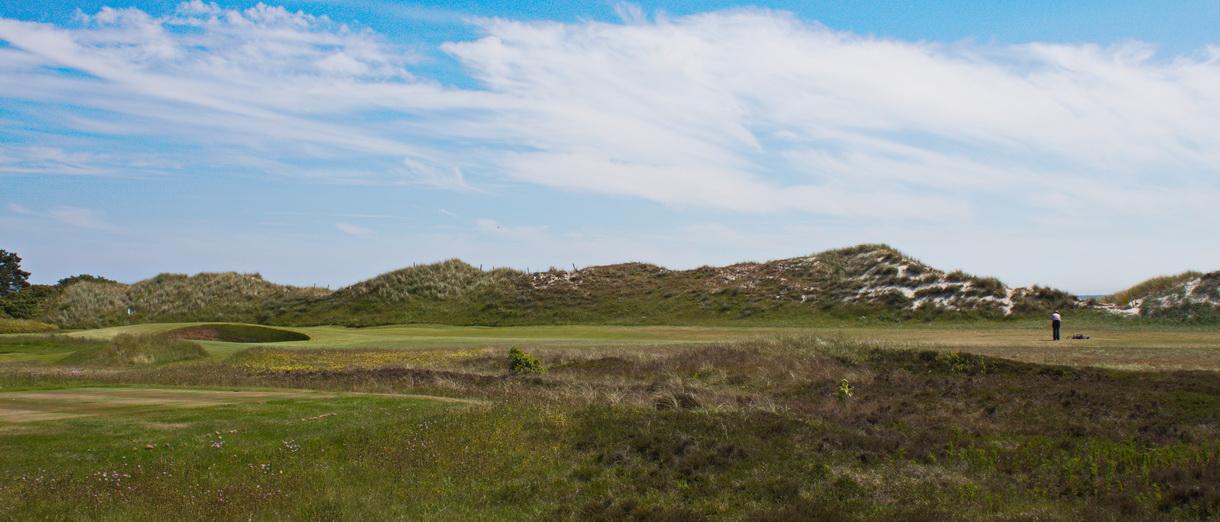 Golf i Skåne - Falsterbo Golfklubb bild från banan 5