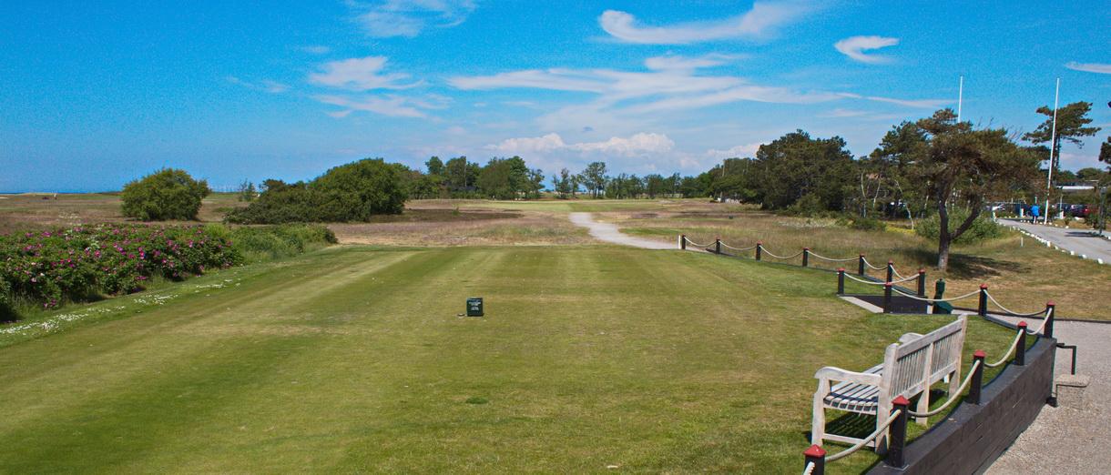 Golf i Skåne - Falsterbo Golfklubb bild från banan 1