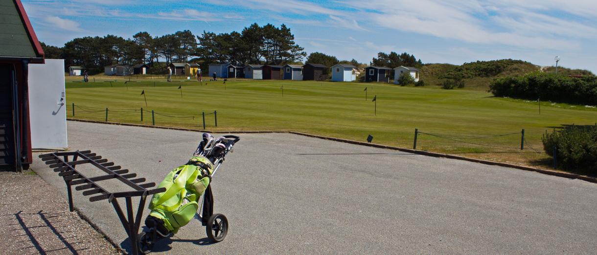 Golf i Skåne - Falsterbo Golfklubb bild från övningsområde