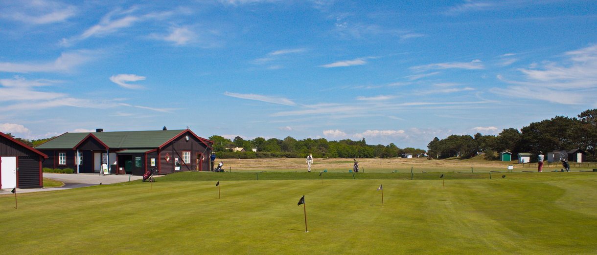 Golf i Skåne - Falsterbo Golfklubb drivingrange