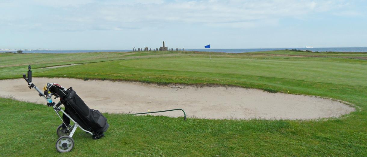 Golf i Skåne - Trelleborg Golfklubb - bild från banan 3