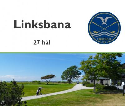 Golf i Skåne - Ljunghusens Golfklubb - Linksbana med 27 hål