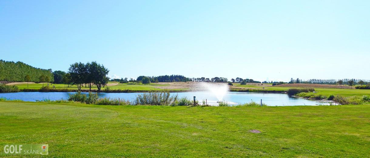 Golf i Skåne - Allerums Golfklubb bild från banan 2 Adr. golfiskane.se