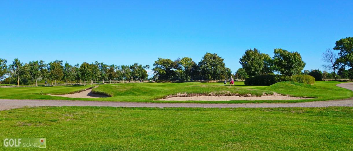 Golf i Skåne - Allerums Golfklubb bild från banan 3 Adr. golfiskane.se