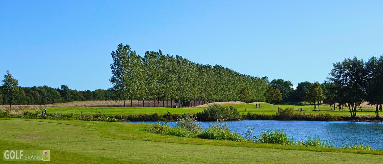 Golf i Skåne - Allerums Golfklubb bild från banan 4 Adr. golfiskane.se