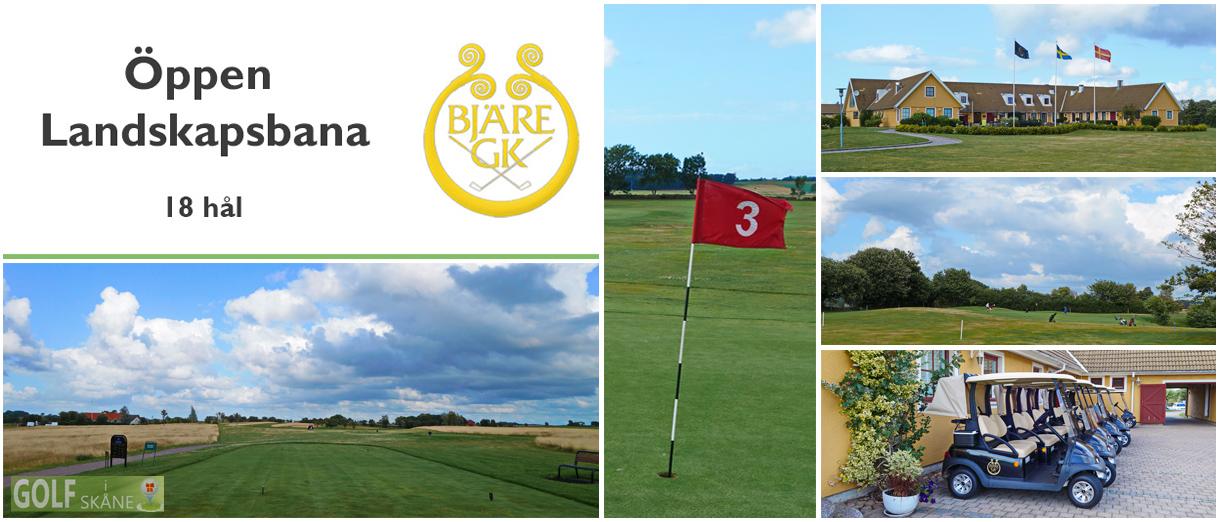Golf i Skåne - Bjäre Golfklubb Adr. golfiskane.se