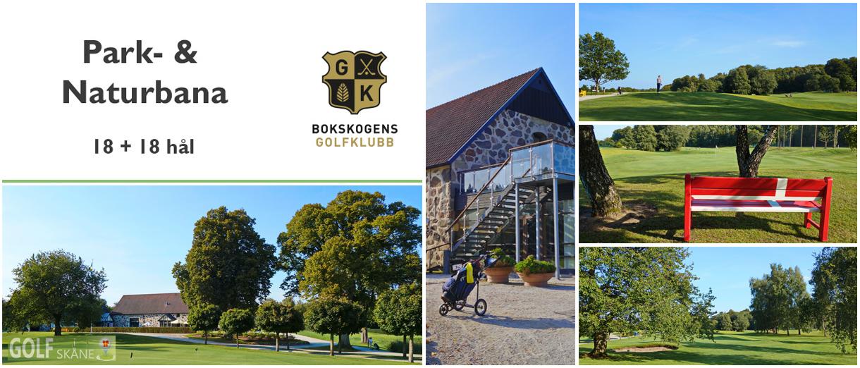 Golf i Skåne - Bokskogens Golfklubb Adr. golfiskane.se