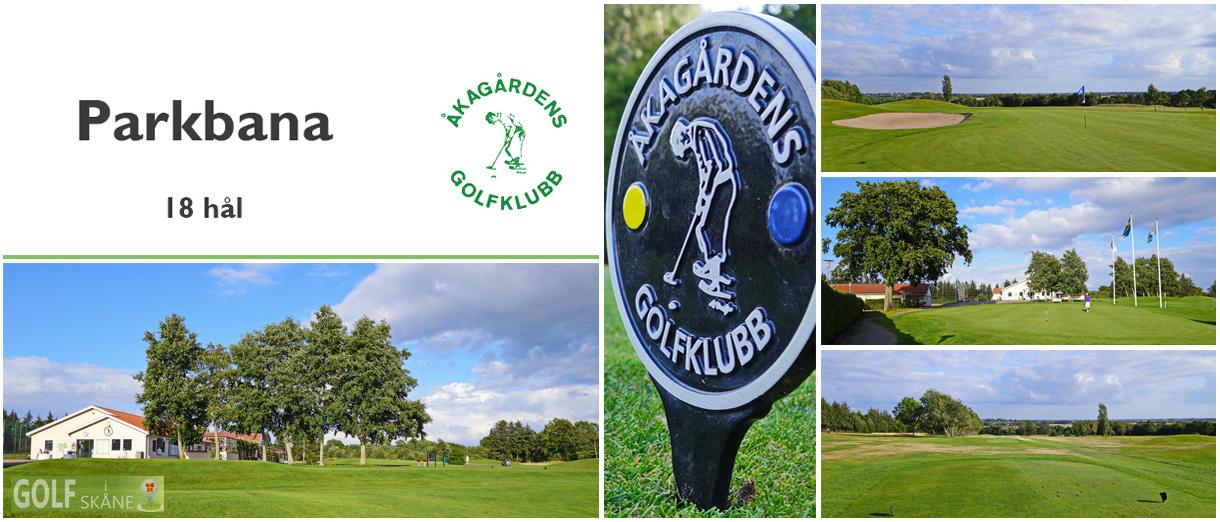 Golf i Skåne - Åkagårdens Golfklubb Adr. golfiskane.se