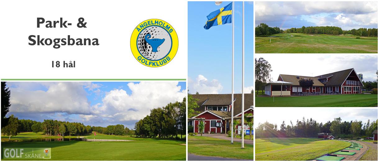 Golf i Skåne - Ängelholms Golfklubb Adr. golfiskane.se