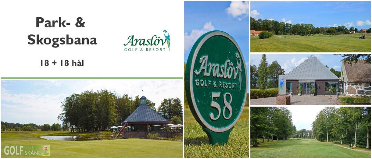 Golf i Skåne - Araslöv Golf & Resort - Adr. golfiskane.se