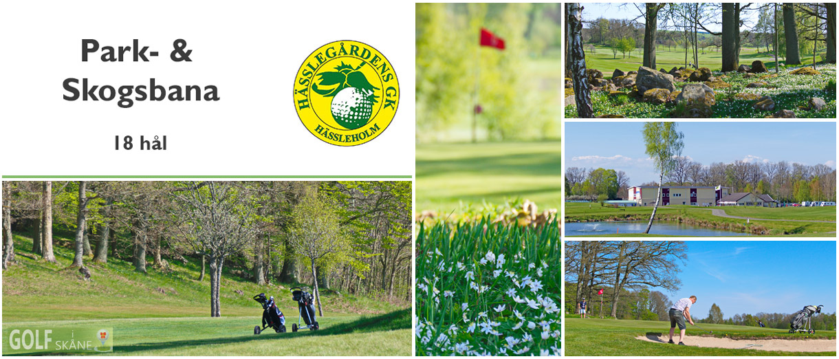 Golf i Skåne - Hässlegårdens Golfklubb Adr. golfiskane.se
