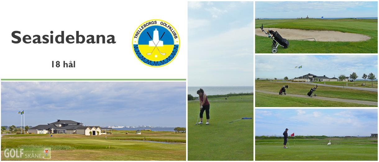 Golf i Skåne - Trelleborg Golfklubb - Seasidebana 18 hål