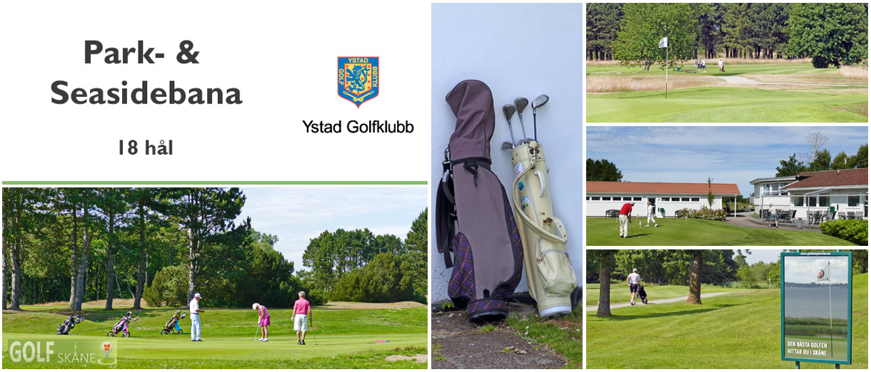 Golf i Skåne - Ystad Golfklubb Adr. golfiskane.se