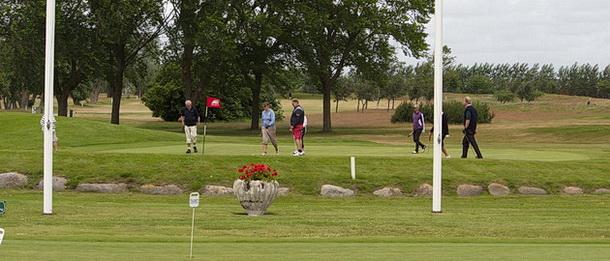 Golf i Skåne - Bedinge Golfklubb - Snyggt inspel