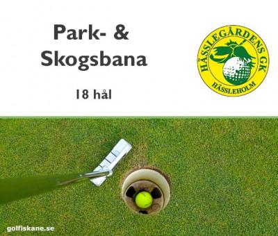 Golf i Skåne - Hässlegårdens GK Adr. golfiskane.se
