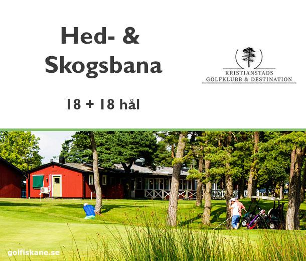 Golf i Skåne - Kristianstad Åhus GK - golfklubb Läs mer på golfiskane.se