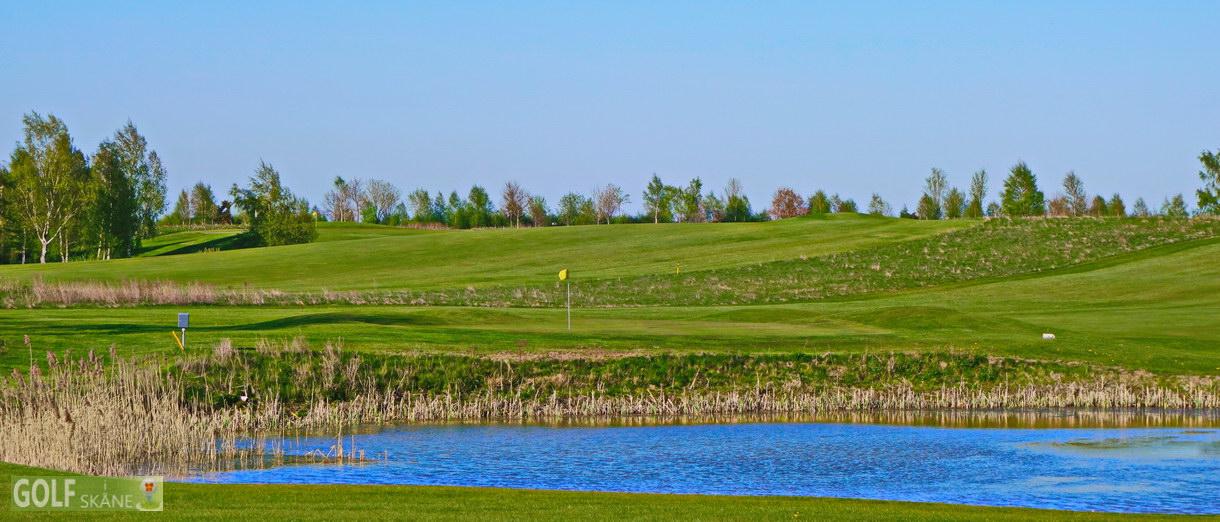 Golf i Skåne banbild- Ljungbyheds Golfklubb Adr. golfiskane.se