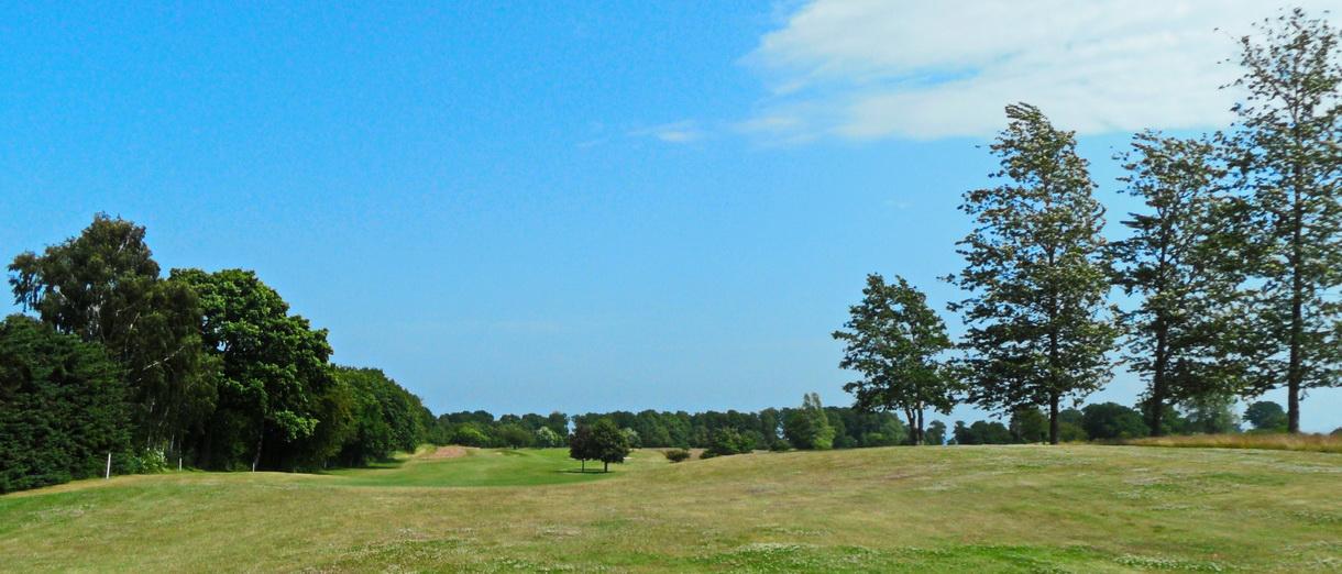 Golf i Skåne - Österlens Golfklubb - vy från banan