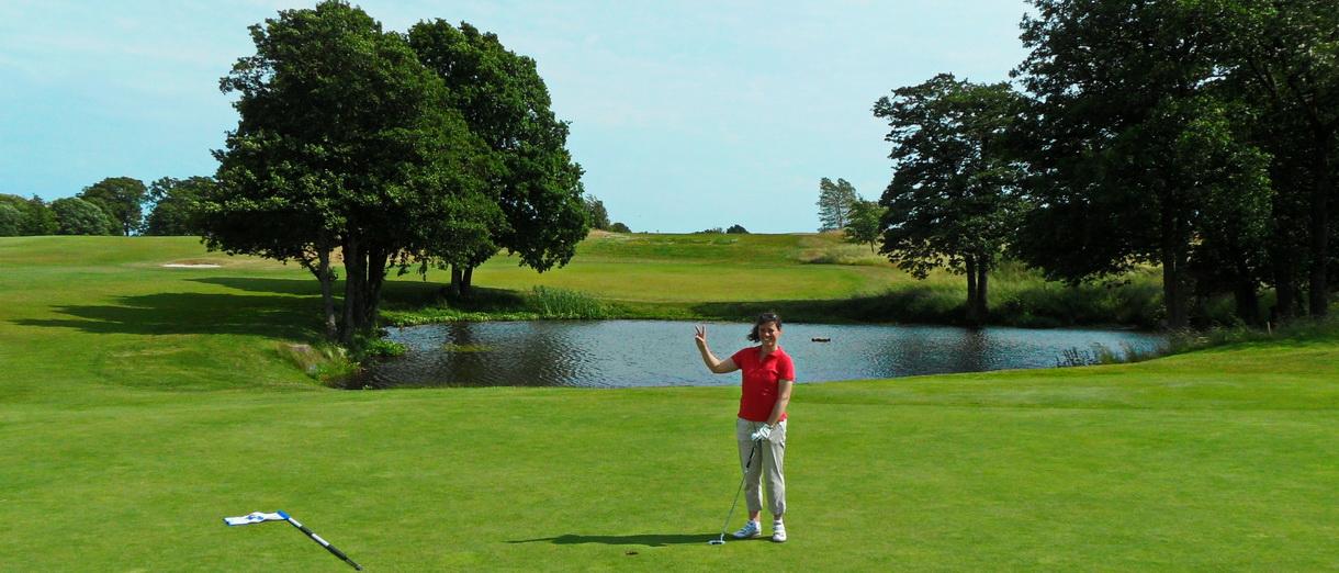 Golf i Skåne - Österlens Golfklubb - My Birdie girl!