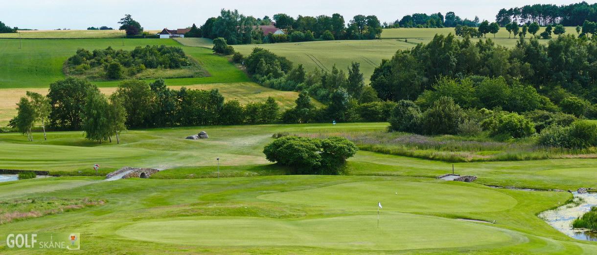 Golf i Skåne banbild- Tomelilla Golfklubb Adr. golfiskane.se